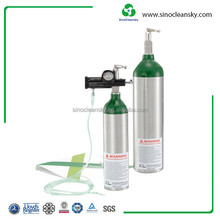 Small Gas Cylinder for Portable Oxygen Cylinder