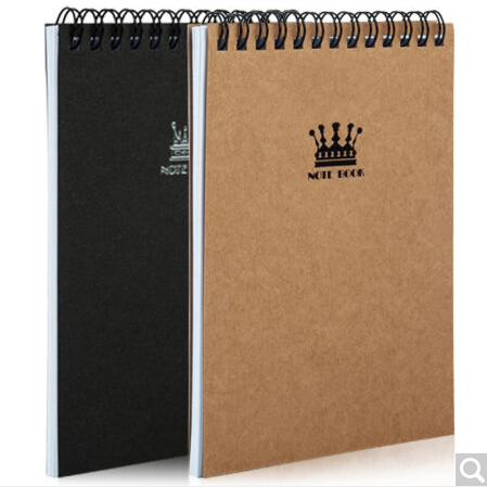 Kraft Coil Notebook