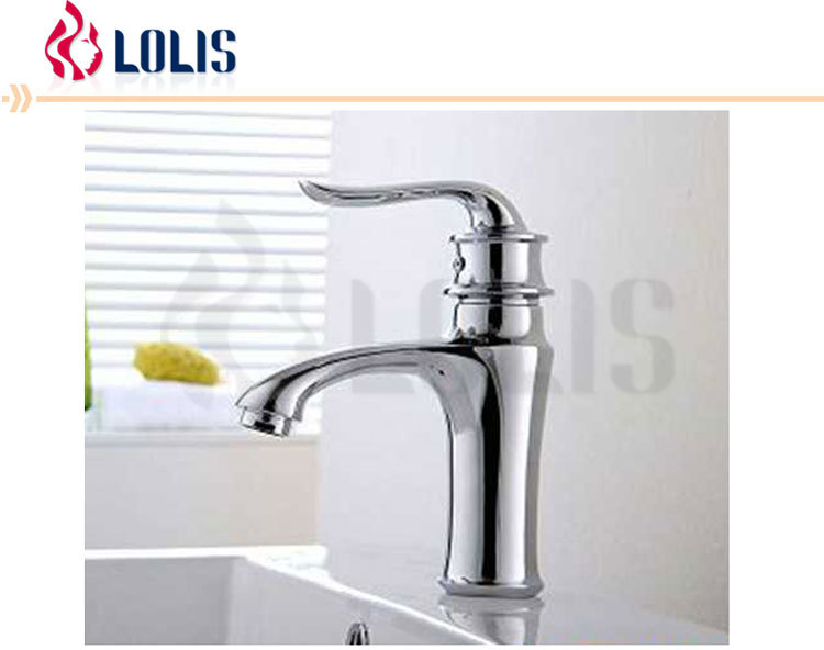 Modern chrome plated hot cold water hand wash basin mixer water tap