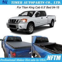 for Titan King Cab 04-15 truck bed cover Mexico roll up top quality tonneau cover