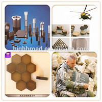 NIJ IV China B4C boron carbide / silicon ceramic plate for Armored vehicles Bulletproof Plate