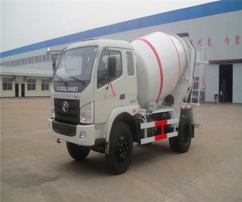 DF 4*2 mini concrete pump truck