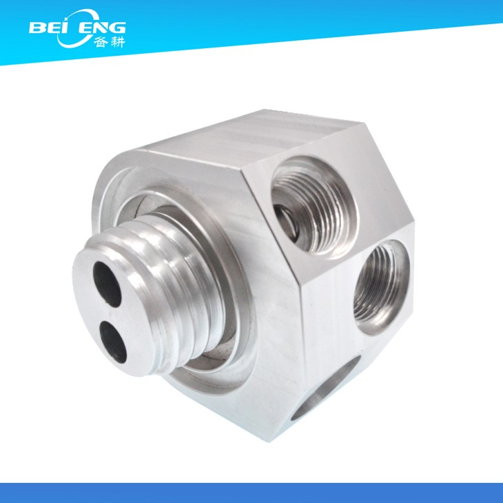 High Precision aluminum cnc milling machine spare parts used in Bus