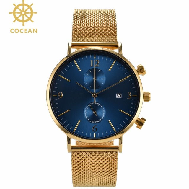 Wholesale Automatic Stainless Steel Men Watch Rose Gold Watches