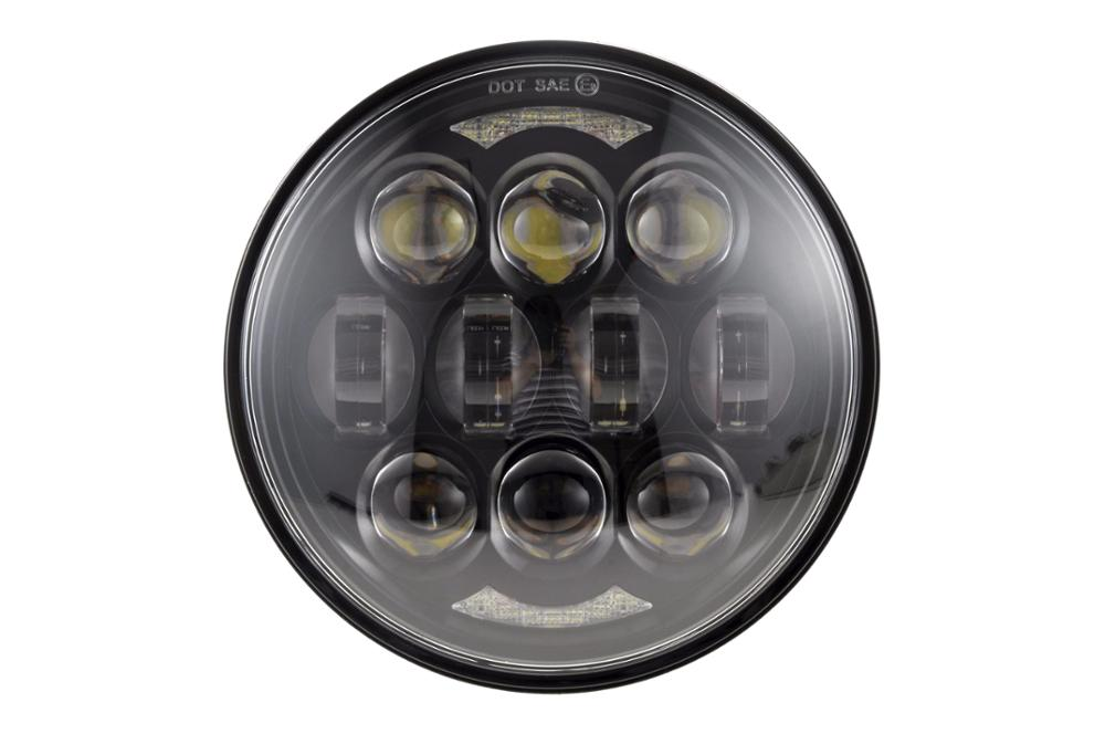 "Loyo Newest Patented 80w 5.75"" led headlights, 5 3/4"" led headlight for Harley Motorcycle"