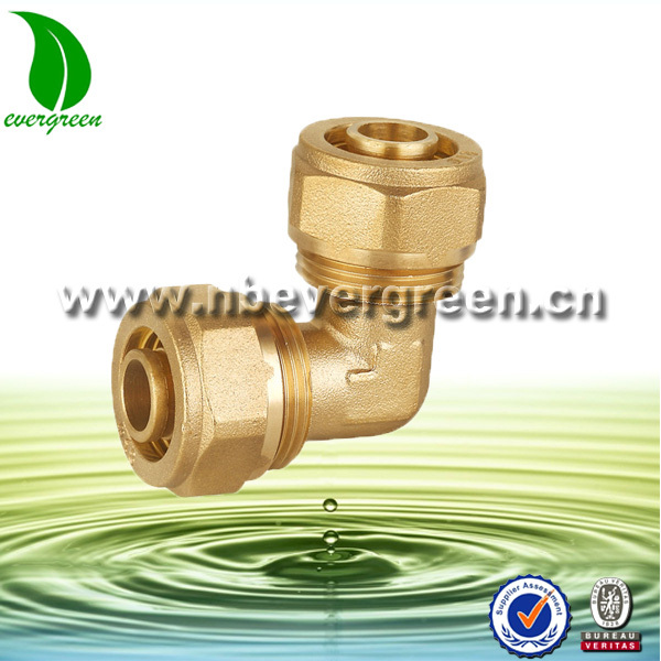 Brass swagelok compression fitting
