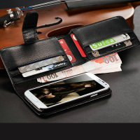 cheap wallet pu leather cell mobile phone case design for samsung galaxy S4 I9500 S 4