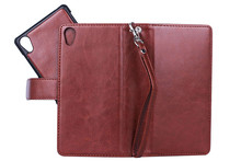 BRG For sony xperia z2 case, 2 in 1 Wallet Leather Cover Case for Sony Z2