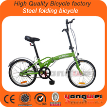 China new design popular single speed or 7 speed light weight cheap folding bikes folding bicycle folding