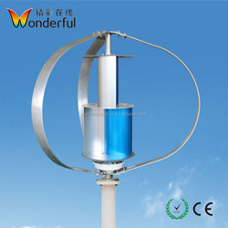 2018 Most Popular Household Alternative Generator Power 300w Vertical Wind Turbine from China
