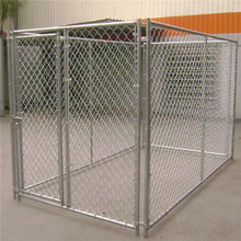Hot sale chain link rolling cheap mental dog run house/dog kennels/outdoor dog fence chain link fence