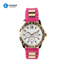 The newest silicone watches women fashion wristwatch