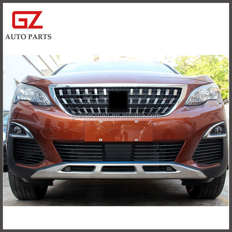 front rear bumper plate for 2016- 2019 peugeot 3008