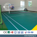 Portable rolled badminton flooring