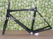 bicycle parts & full carbon frame & bicycle frame Fm015 with 700C wheels