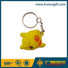 high quality wholesale custom environmental protection 3d soft pvc keychain