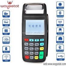 WAYPOTAT Handheld pos terminal with multi-funcation new8210