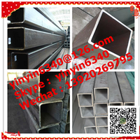 Hot sale! grade of mild steel square tube for construction