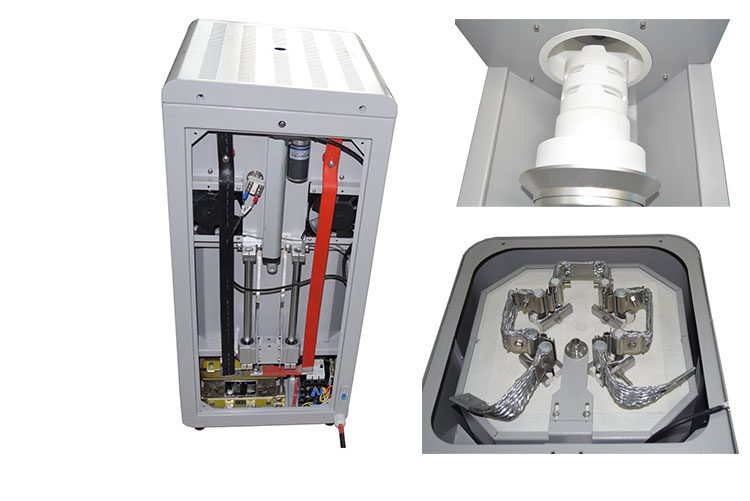 Dental zirconia sintering furnace for the crystallization of zirconia crowns