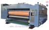 GIGA LX Flexo 4 color and New adjusting system for rotary die cutting machine
