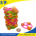 10 pcs colorful steering wheel rattle toy with net bag