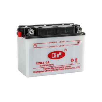 12v 6ah motorcycle battery from China moter battery manufacturer