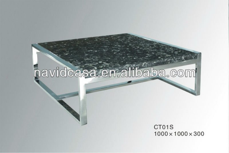 CT01S attractive marble top onyx marble coffee tables