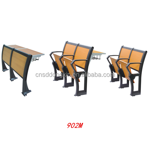Best selling university school furniture desk and chair Lecture chair with top quality 902M