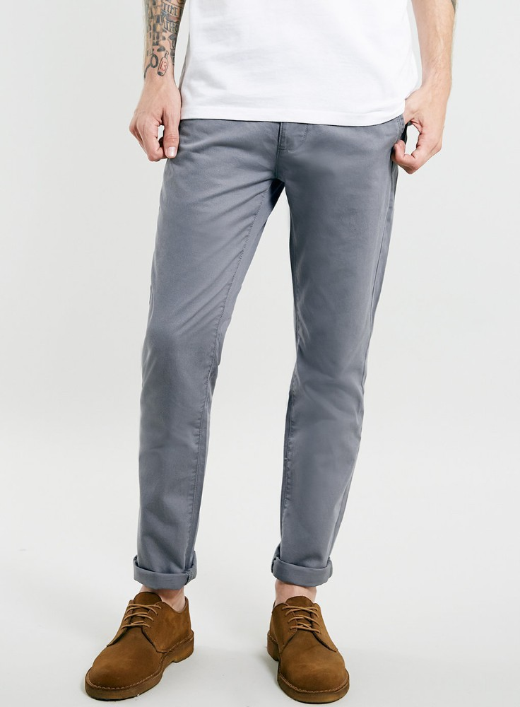 Young Men 's <strong>Fashion</strong> Skinny Chino Pants/ Wholesale Custom Cotton Twill Stretch Chino Trousers