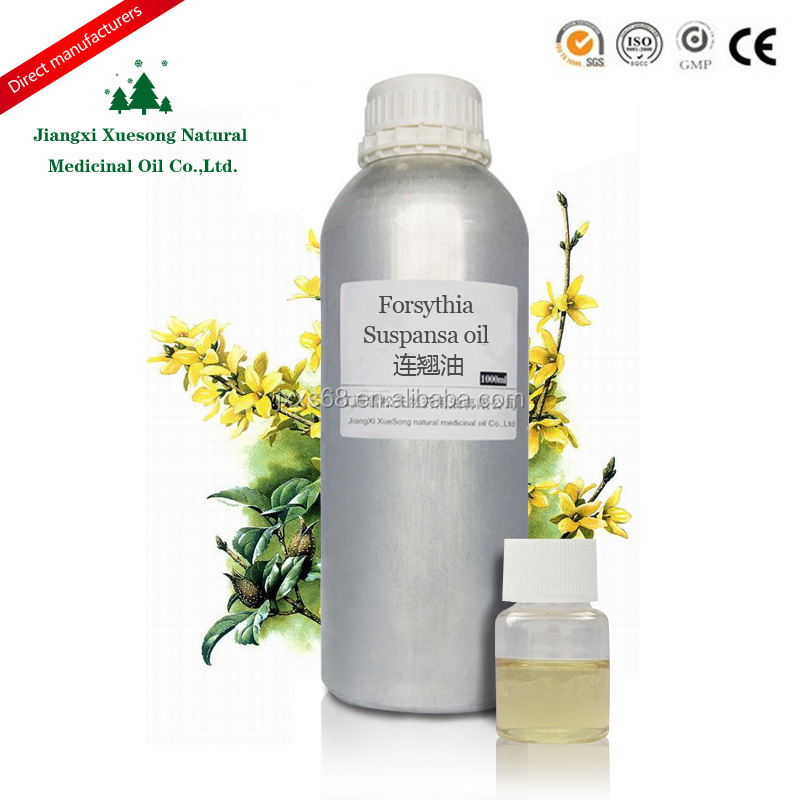 Pure high quality forsythia essential oil for reduce the swelling wih factory price in China