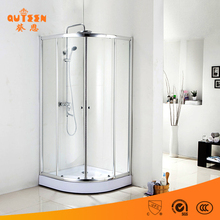 Dubai tempered glass cheap enclosed simple complete shower room/shower room price