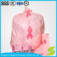 Custom colored PE Plastic medical waste bag
