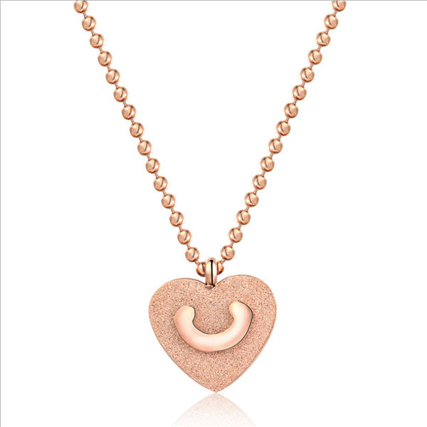 Yiwu Aceon New products on china market stainless steel Love <strong>U</strong> Heart Pendant