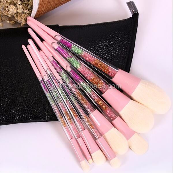 8pcs goat Makeup Brushes Contouring Makeup Brush custom colorful make up brush