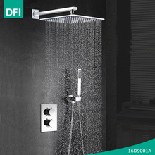 DFI rainfall thermostatic shower mixer with shower valve