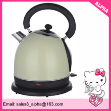 hot selling 1.7 liter stainless steel dome electric kettle with colour