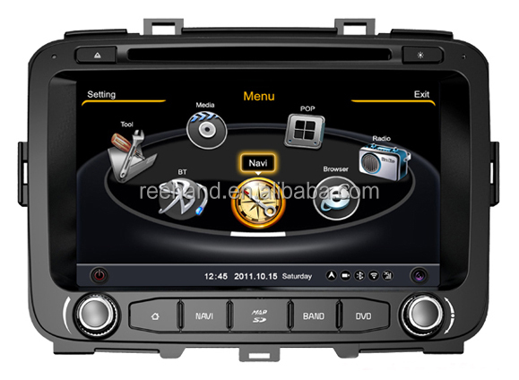 "8"" TFT screen Car Radio GPS for Caren 2013 with Gps Navi,3G,Wifi,A8 Chipset ,Bluetooth,Ipod,Free map Support DVR,DVB-T"