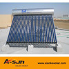 Vacuum Tube Stainless Steel Heat Pipe Solar Water System