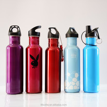 750ML Stainless Steel Wide Mouth Drinking Water Bottle Outdoor Sports Kettle for Outdoor Sports