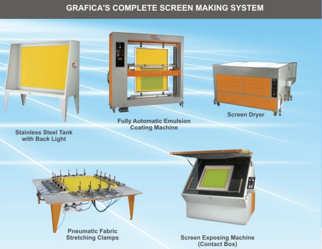 Complete screen making set up