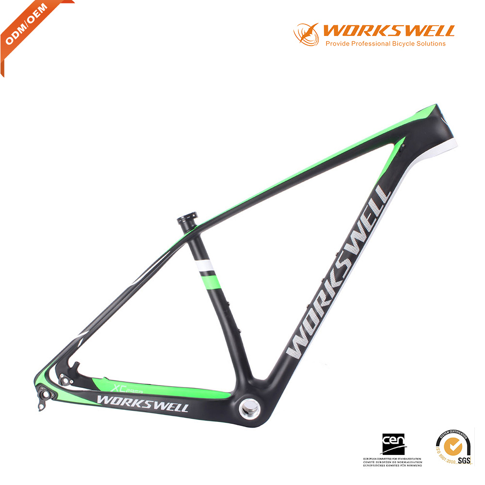 "2016 XC Hardtail Frame MTB Carbon 29er Mountain Carbon Bike Frame in 15.5""/17""/18.5""/20"""
