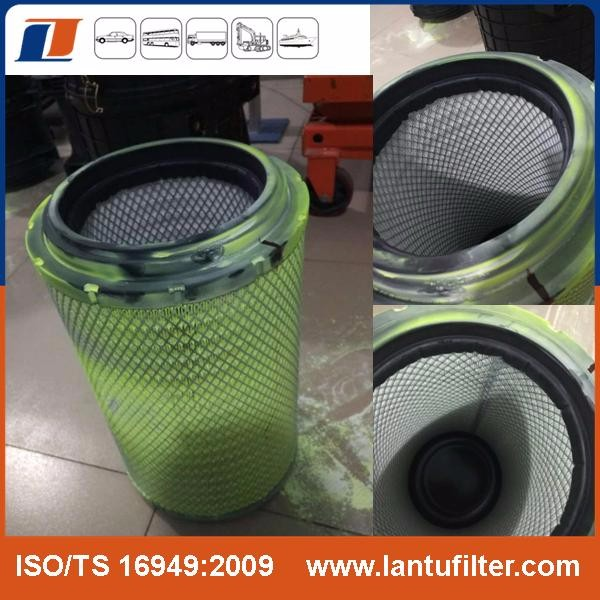 honeycomb air filter SEV551H4 226-2779 with high quality for diesel engine