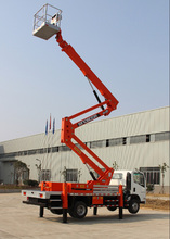 22M trailer mounted boom lift /truck mounted Articulating Boom Lift