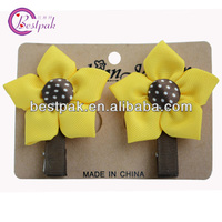 twin star yellow hair accessories