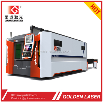 IPG / nLight 3000W Fiber Laser Cutting Machine for Stainless Steel, Carbon Steel with Shuttle Table