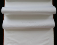 100% cotton white satin roll fabric make hotel bedding sets bed sheets