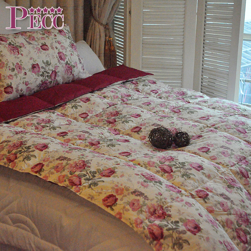 Low Price Microfiber Fabric Duvet Single Size Fill Feather Quilt