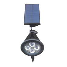 Waterproof Outdoor Solar Garden Light Spotlight for Yard Garden Driveway Pathway Pool