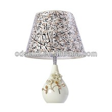 led hand painted dressing ceramic table lamp