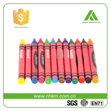 Hot selling 24 wax crayons in color box personalized crayola crayons